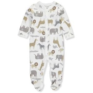 5/$25 Carter's Safari Animal Footie